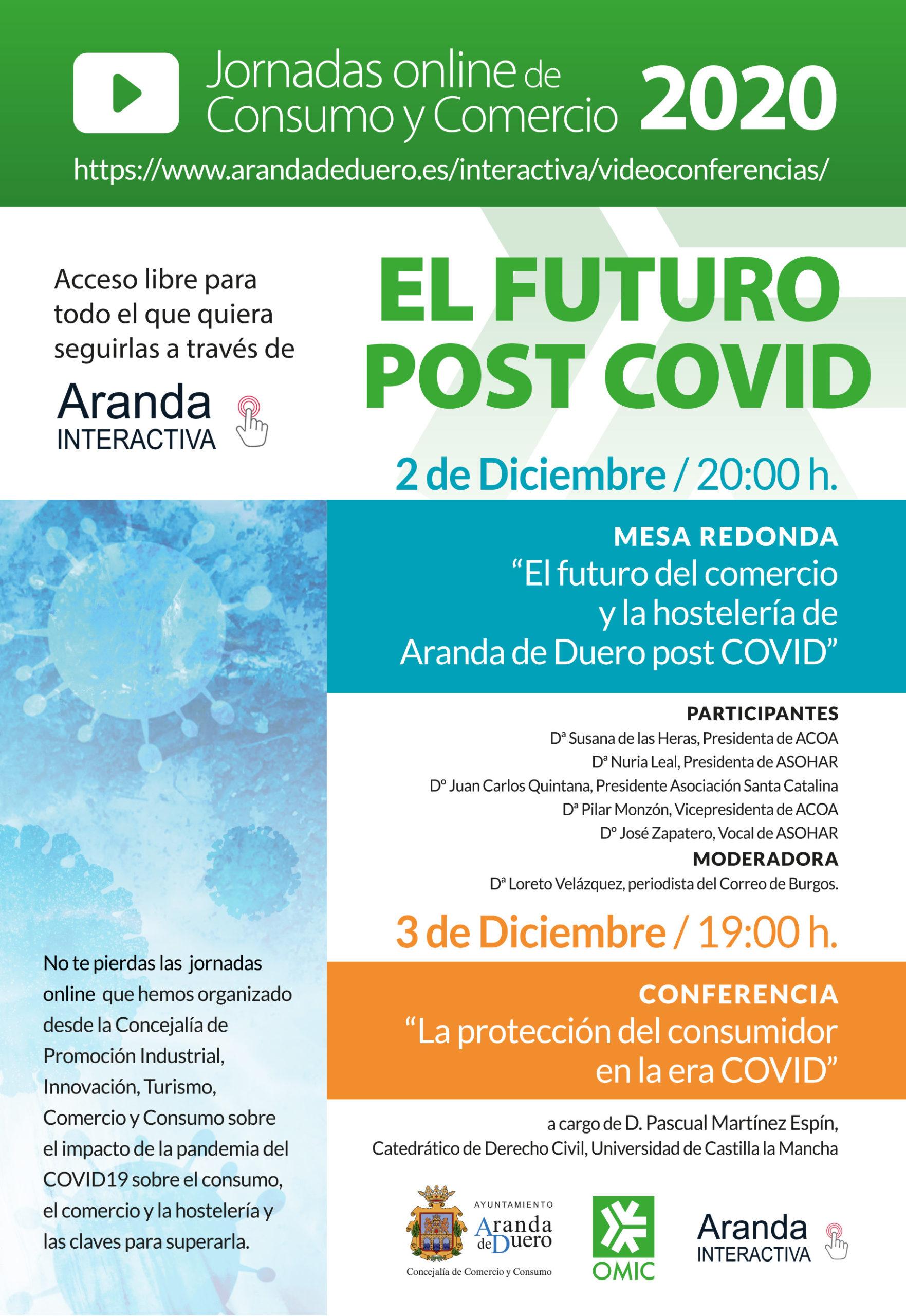 Conferencia: «La protección del consumidor en la era COVID»